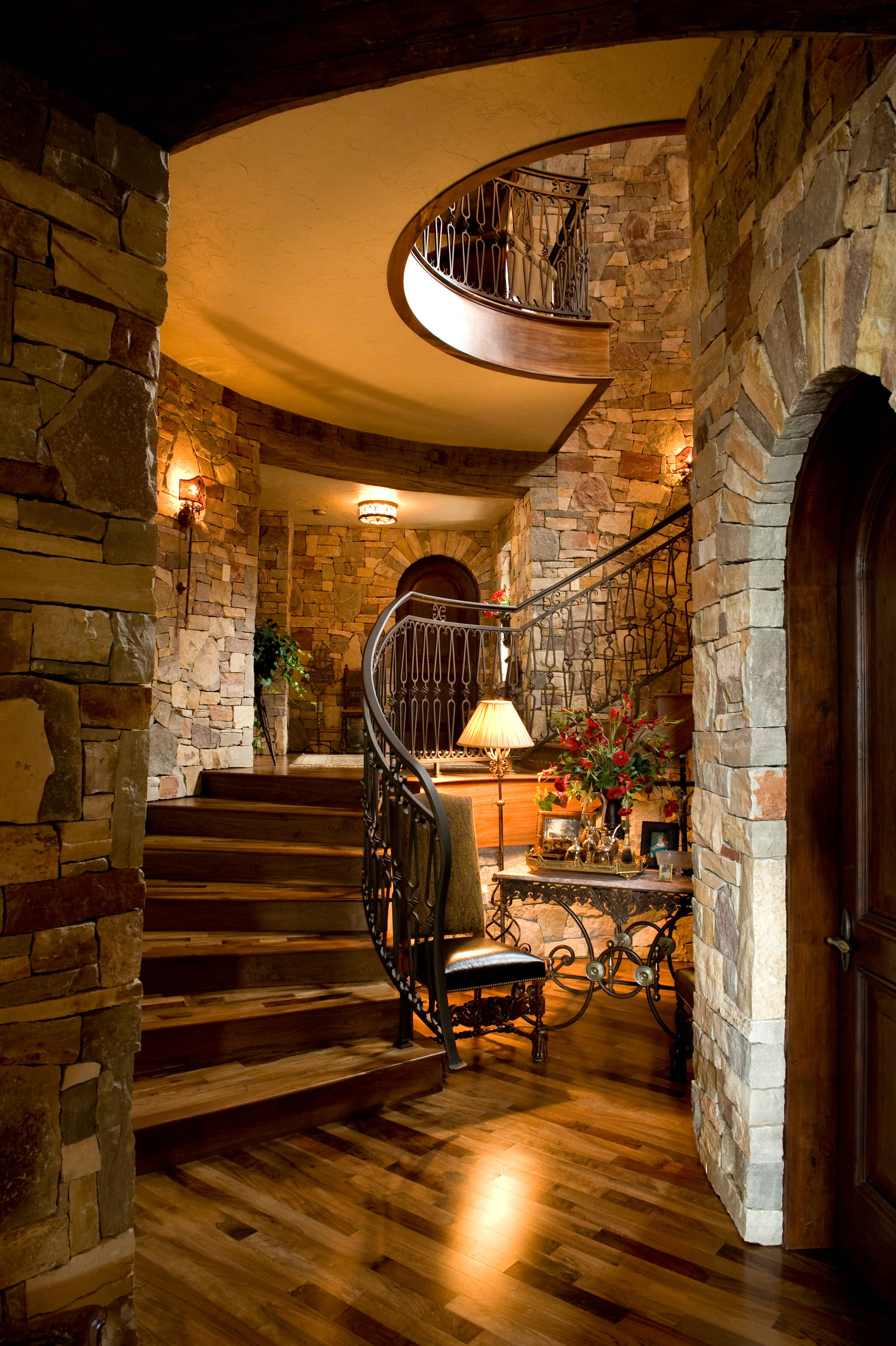 Stone Home Designs: 15 Incredible Mediterranean Staircase Designs That Will