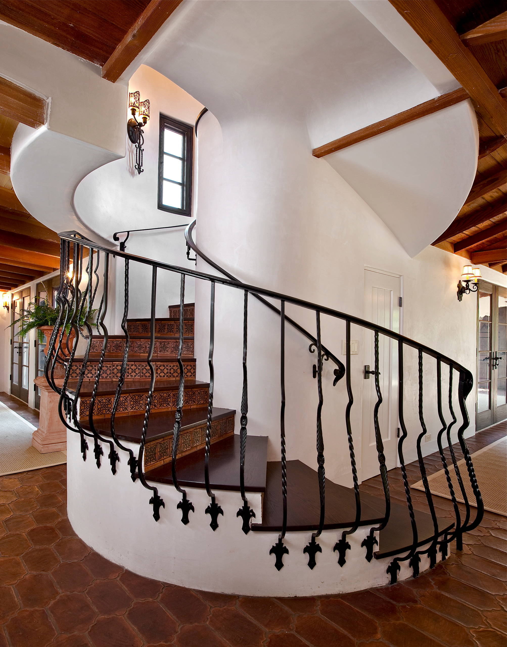 Office Entrance Stairs