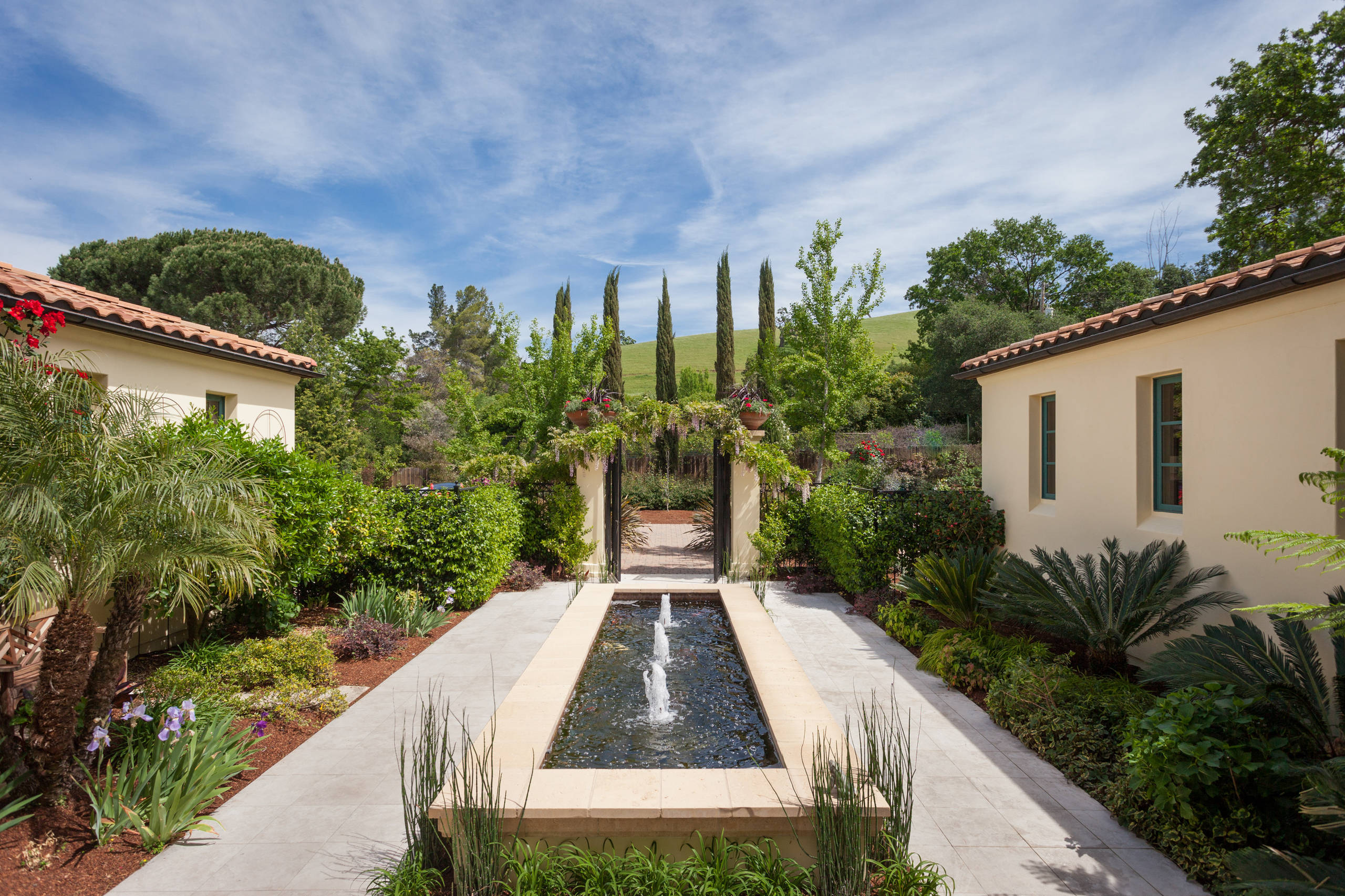 refreshing mediterranean landscape designs for a blissful garden