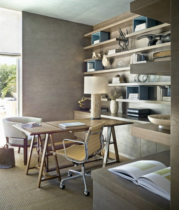 15 Stunning Mediterranean Home Office Designs You're Going To Love