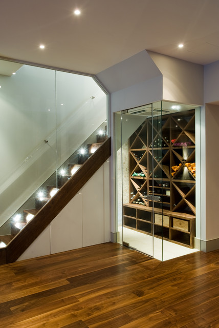 16 Functional Wine Cellar Designs To Clever Use Of The Space Under The Stairs