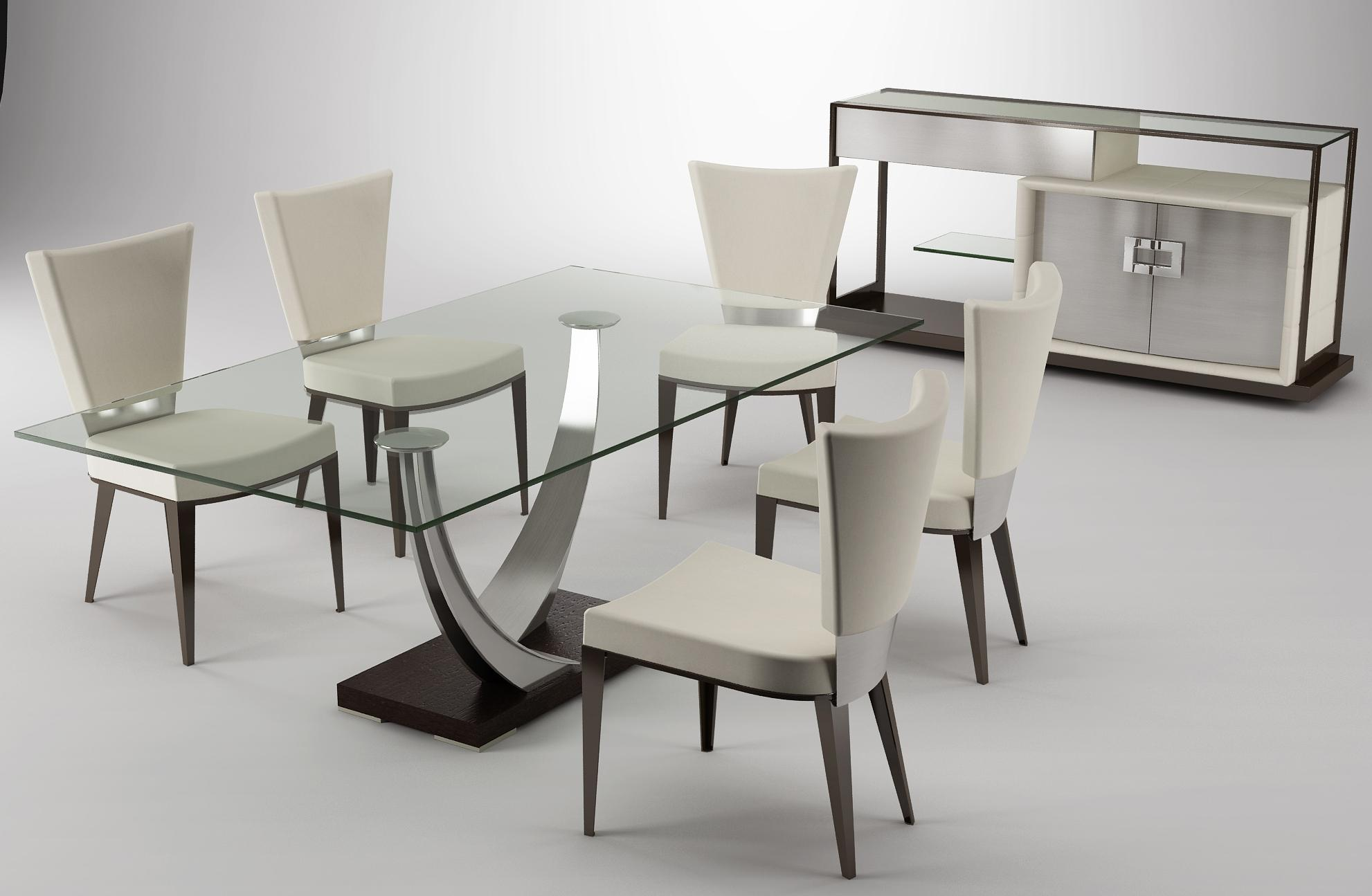 19 magnificent modern dining tables you need to see right now for Dining room designs modern