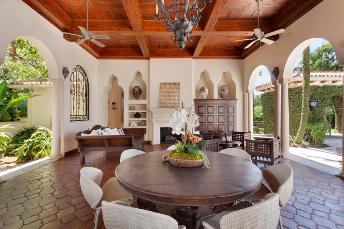 16 Beautiful Mediterranean Patio Designs That Will ... on Beautiful Patio Designs id=30997