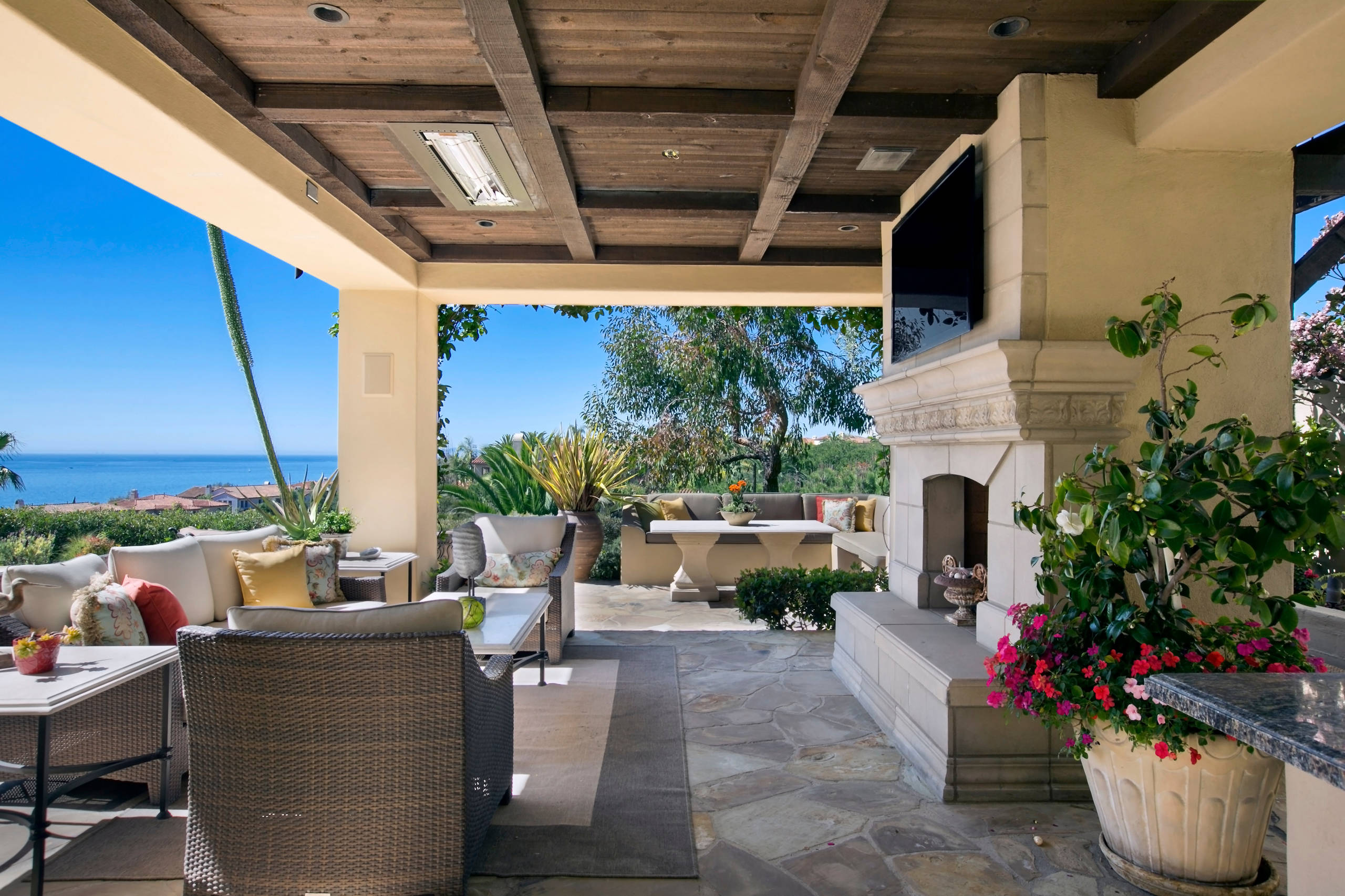 16 Beautiful Mediterranean Patio Designs That Will ... on Best Backyard Patio Designs id=53441
