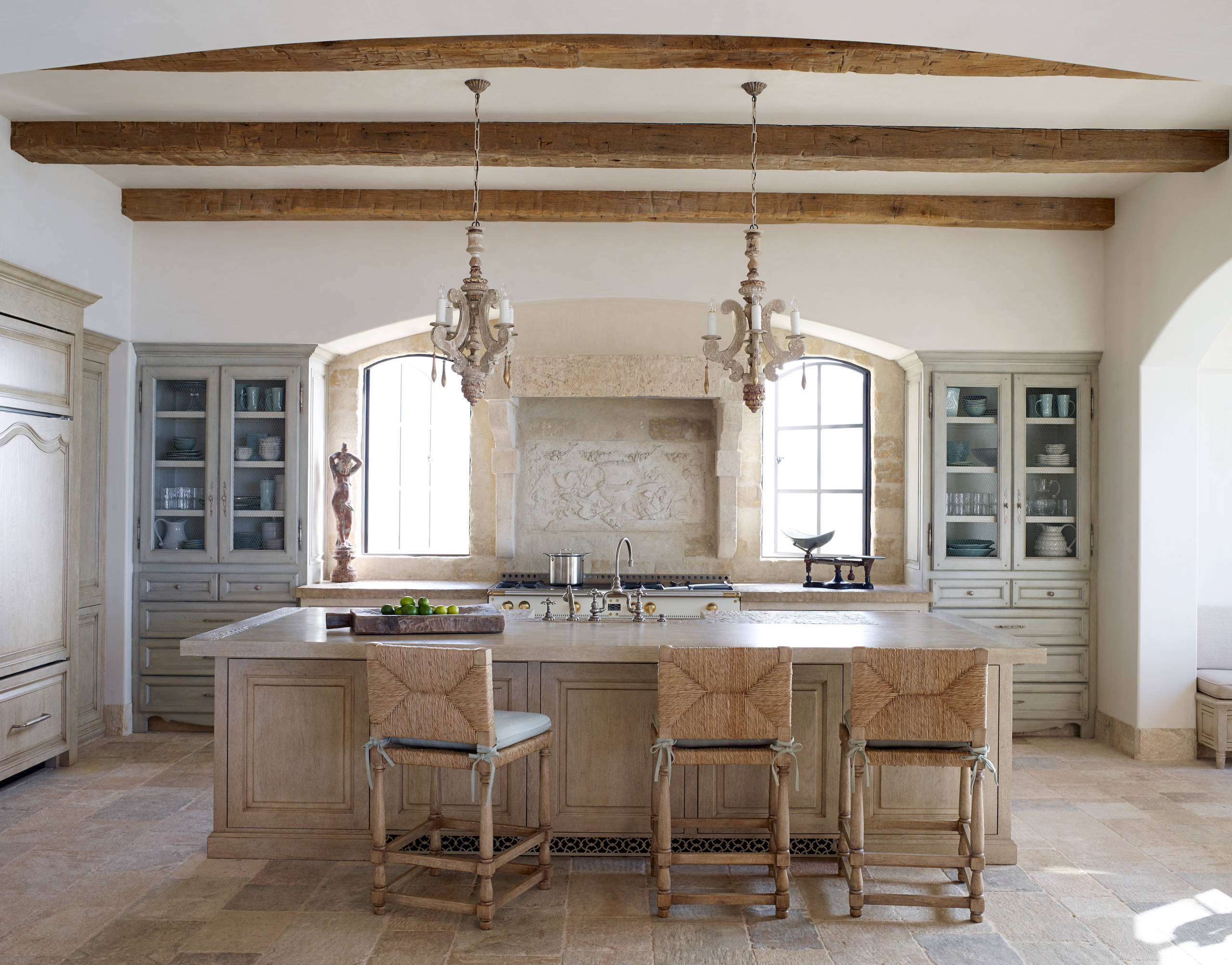 16 charming mediterranean kitchen designs that will for Kitchen ideaa