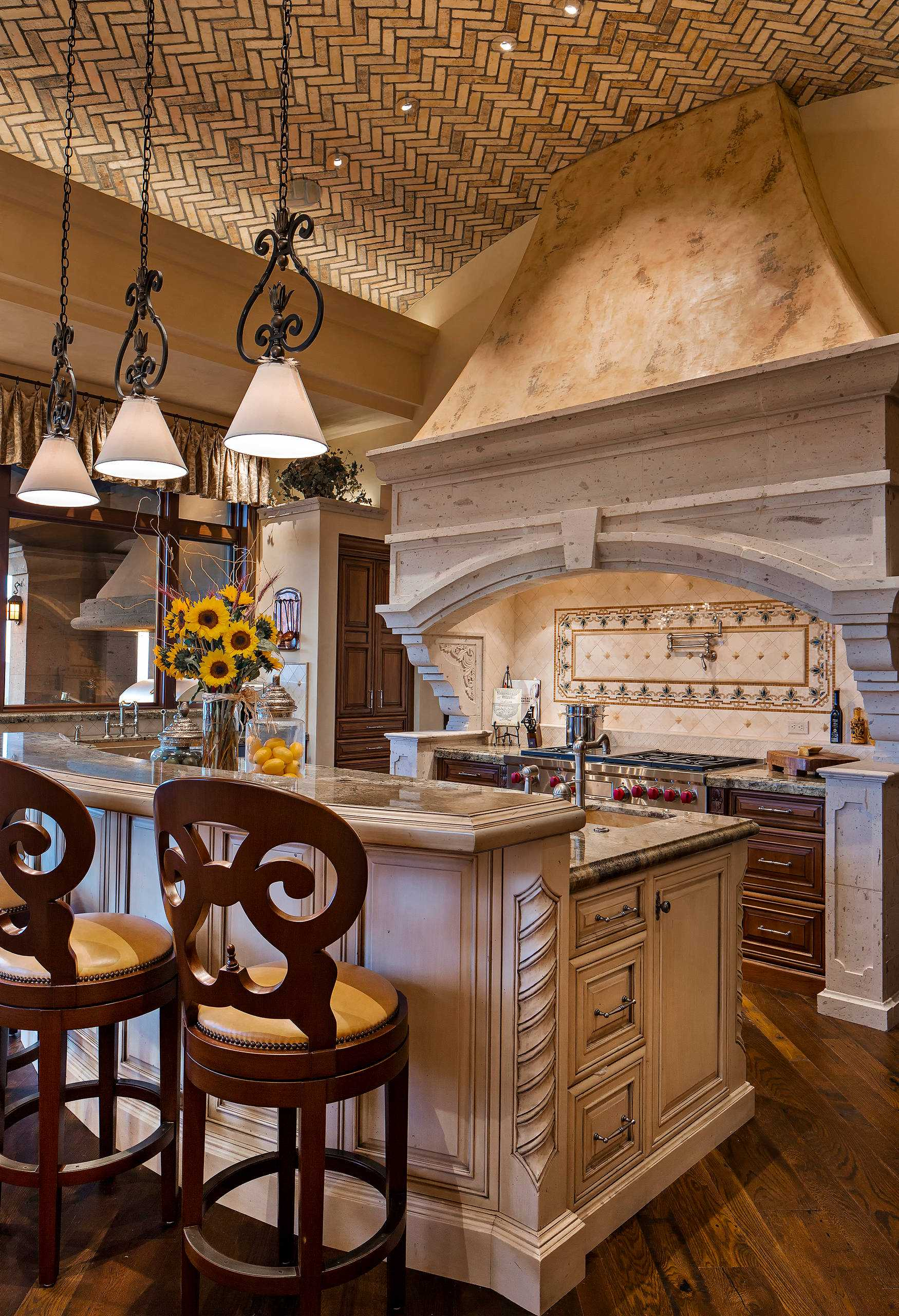 16 Charming Mediterranean Kitchen Designs That Will ... on Rustic:fkvt0Ptafus= Farmhouse Kitchen Ideas  id=77929