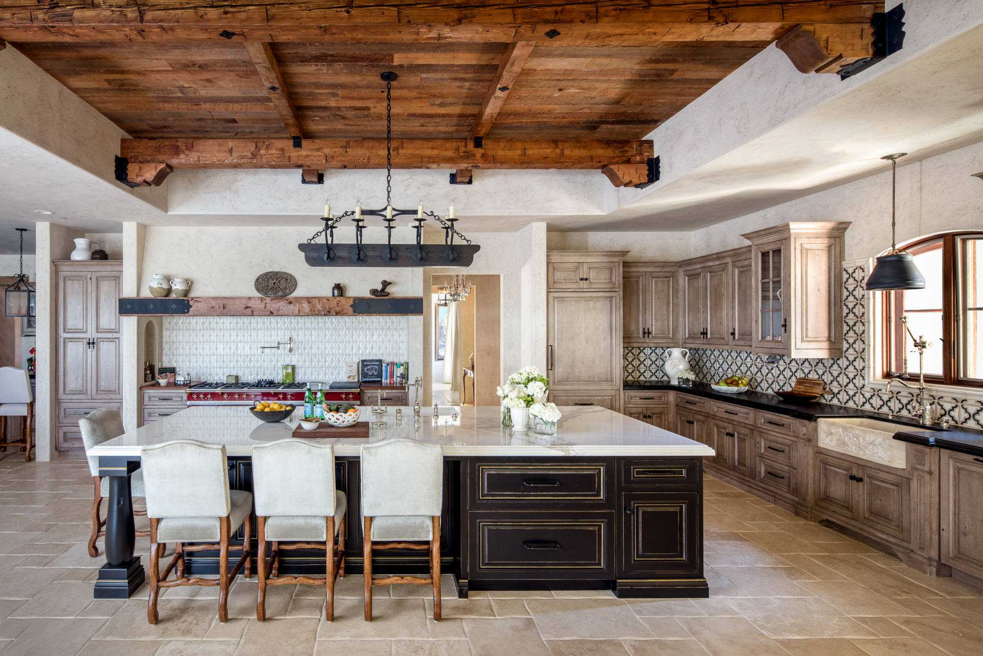 16 Charming Mediterranean Kitchen Designs That Will ... on Rustic:fkvt0Ptafus= Farmhouse Kitchen Ideas  id=44130