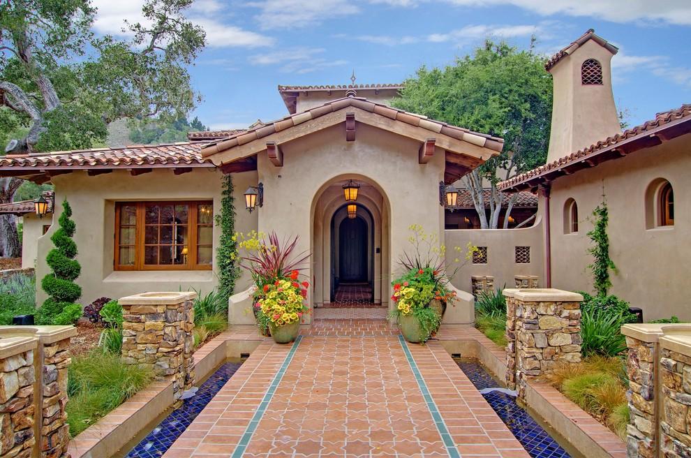 Home Design Entrance Ideas: 16 Tempting Mediterranean Entrance Designs That Will Stun You