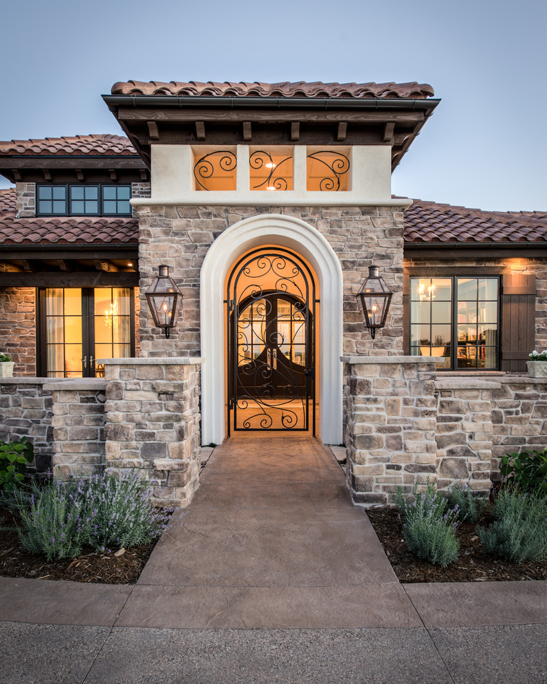 Home Entrance Design: 16 Tempting Mediterranean Entrance Designs That Will Stun You