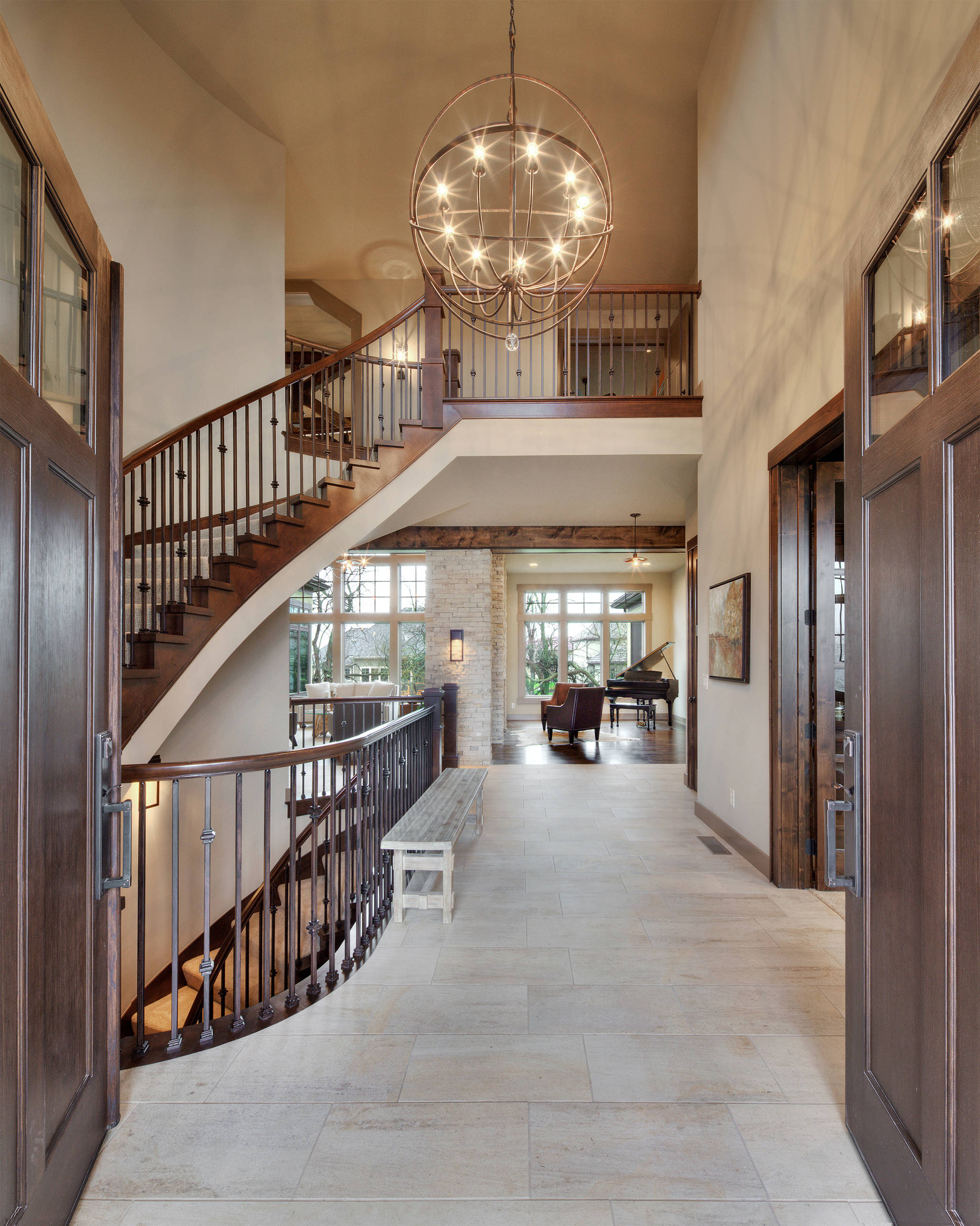 Home Entrance Design: 16 Uplifting Mediterranean Entry Hall Designs That Will