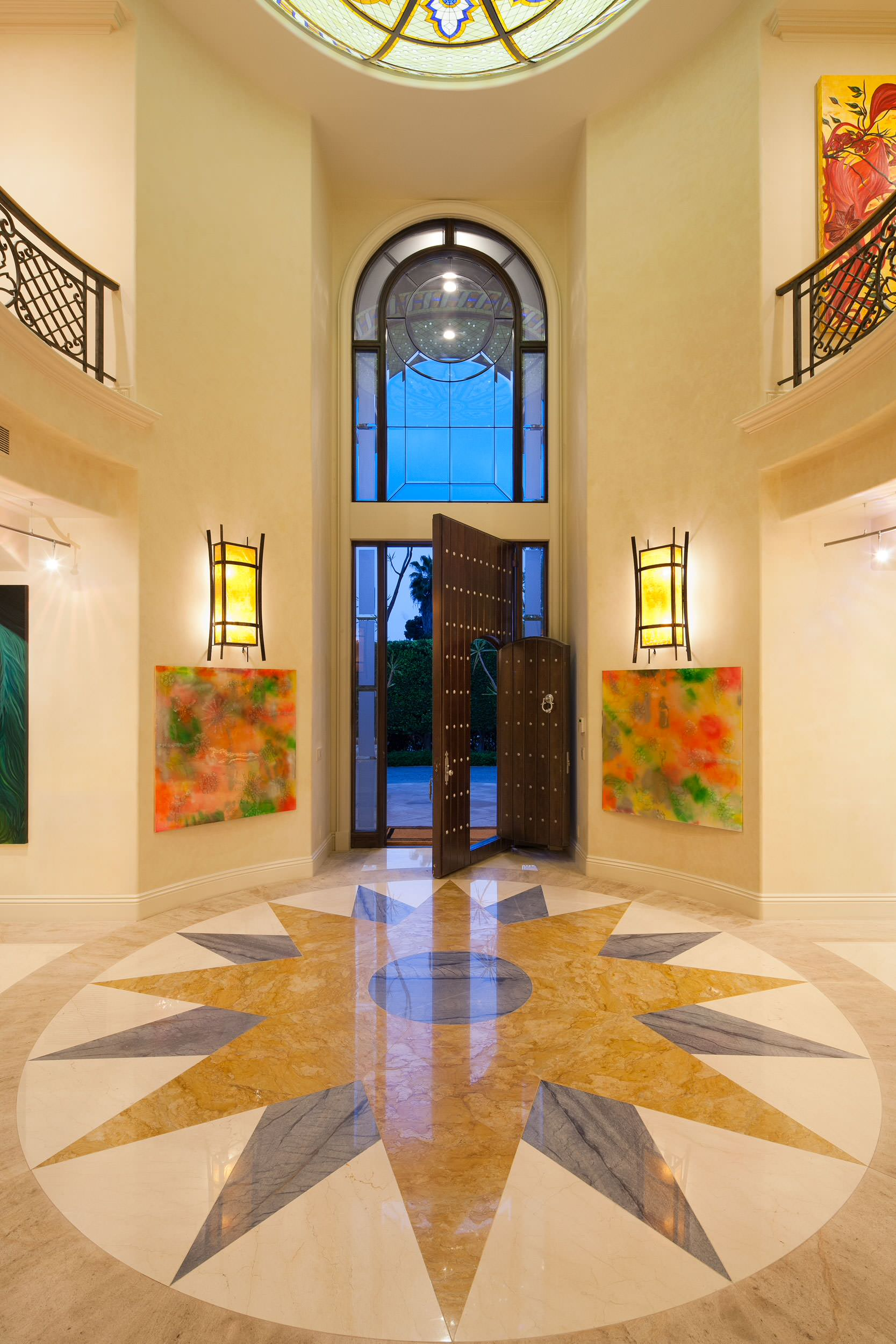 16 uplifting mediterranean entry hall designs that will for House holl design