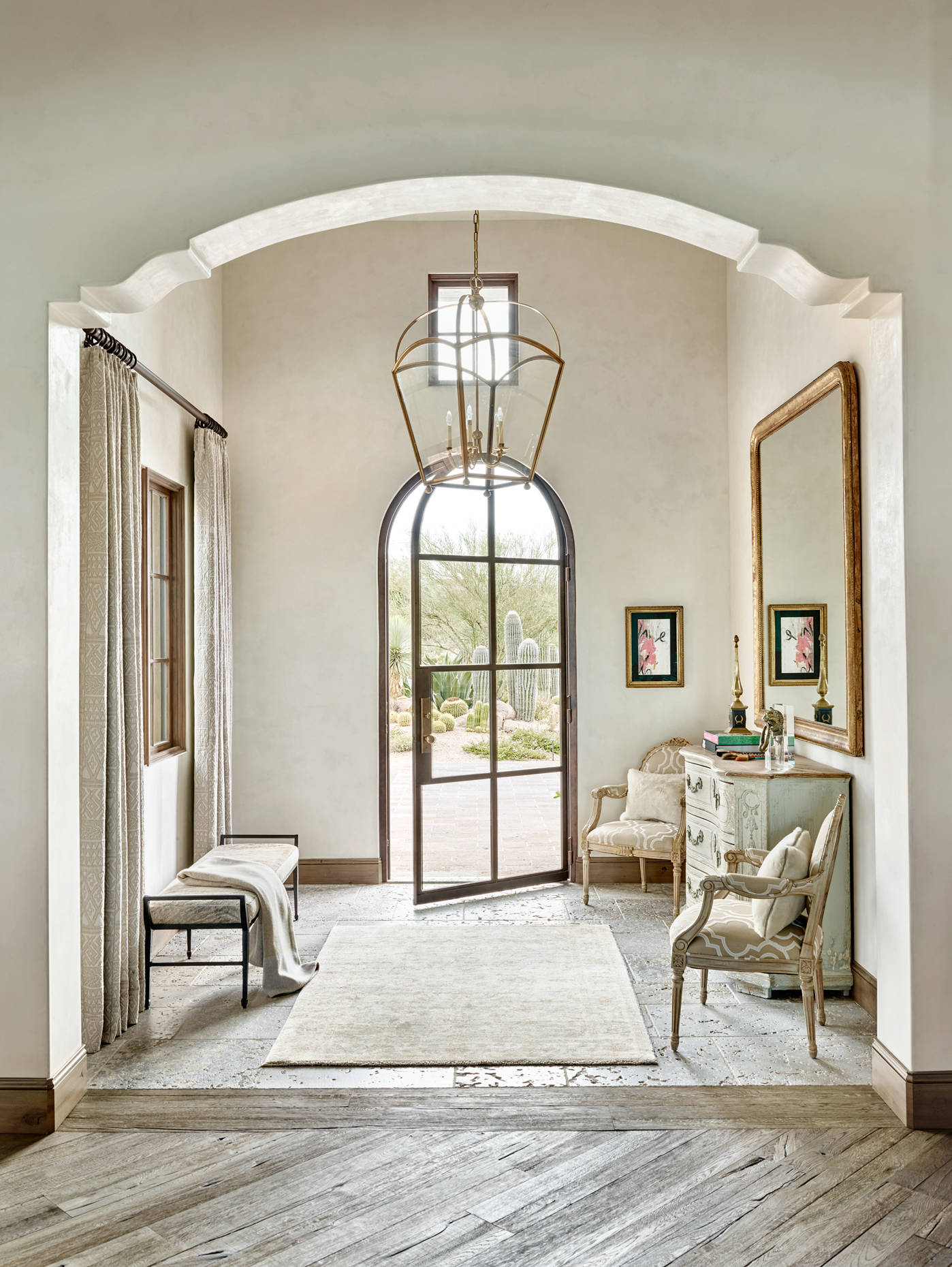 16 Uplifting Mediterranean Entry Hall Designs That Will Welcome You Home