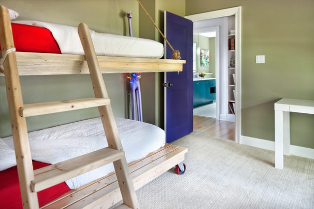 10 Extraordinary Bunk Bed Designs For Small Child's Room