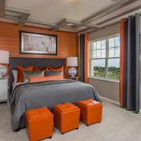17 Sophisticated Bedroom Designs With Addition Of Orange Color