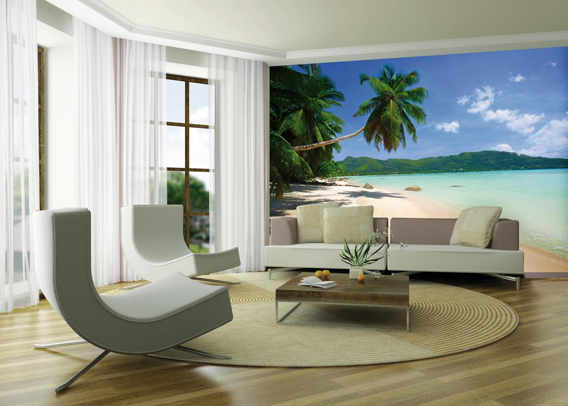 10 divine tropical wall murals to enter summer in the home amipublicfo Images
