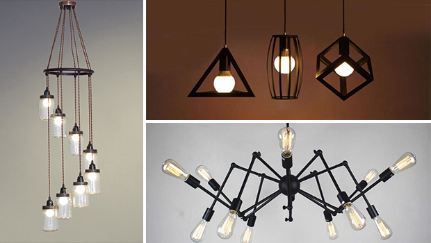 & 20 Unconventional Handmade Industrial Lighting Designs You Can DIY