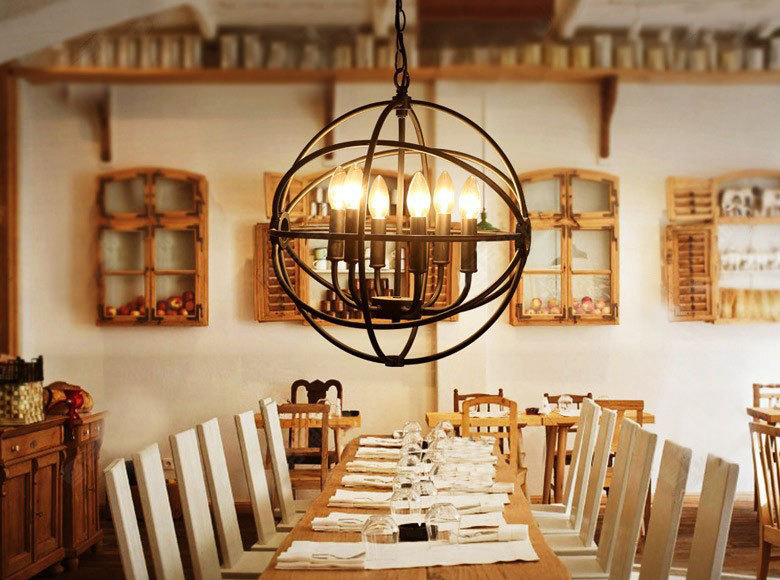 20 unconventional handmade industrial lighting designs you for Dining room lighting ideas uk