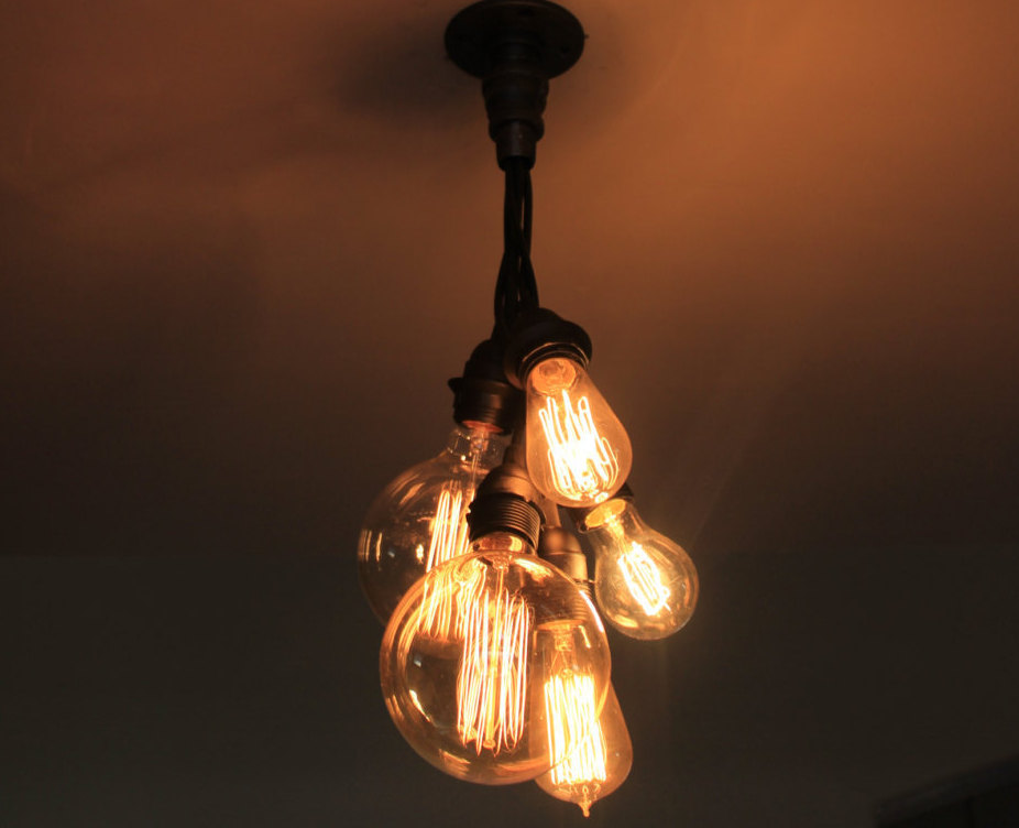 20 unconventional handmade industrial lighting designs you can diy - Diy ceiling lamps ...