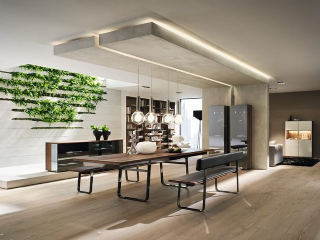 17 Eye Catching Ceiling Designs To Spruce Up The Look Of Your Dining Room
