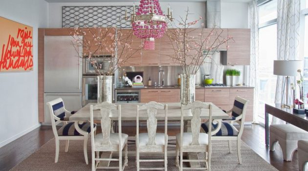 Pink Chandeliers In Your Interior Design- Why Not?