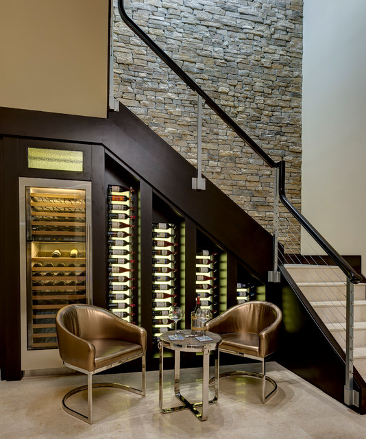 17 Functional Ideas For Designing Small Wine Cellar