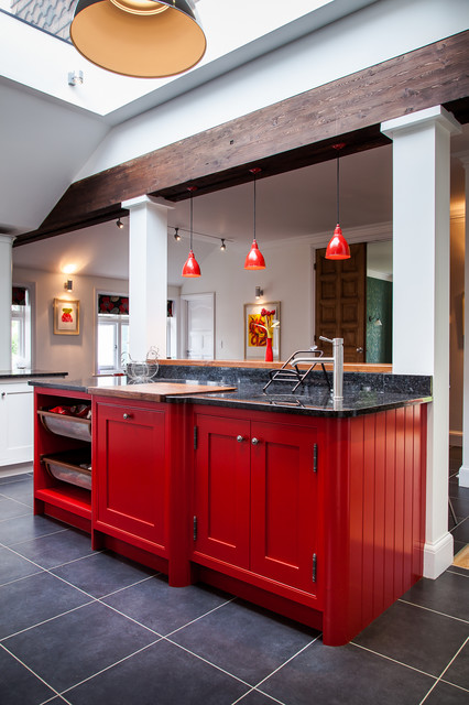 17 Passionate Red Kitchen Designs That You Must See
