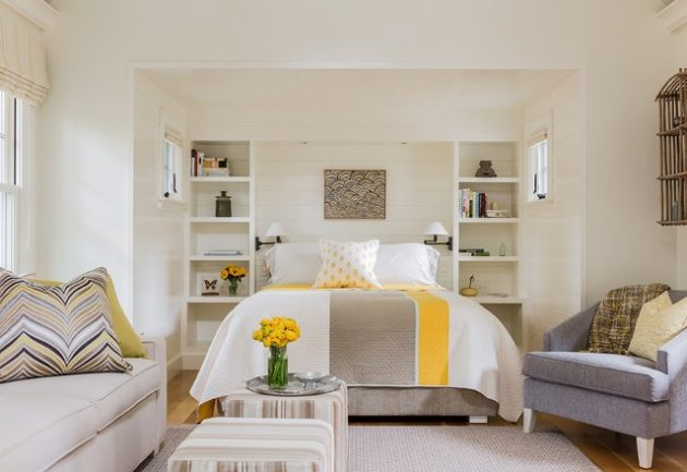 19 Fascinating Alcove Bed Designs To Use Every Inch Of Your Small Home
