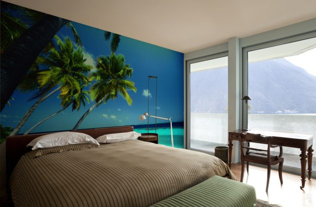 10 Divine Tropical Wall Murals To Enter Summer In The Home