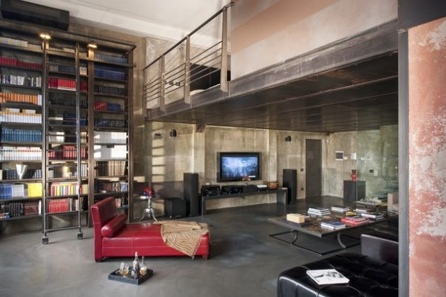 15 Interesting Mezzanine Living Room Designs That Will Inspire You