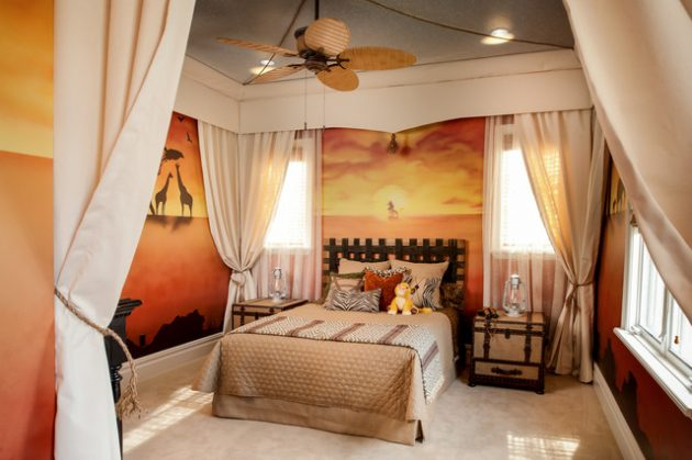 18 Fantastic Tropical Childs Room Designs That Will Amaze You