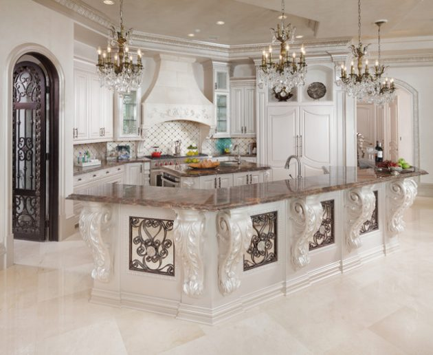 15 timeless baroque kitchen designs that you must see for See kitchen designs