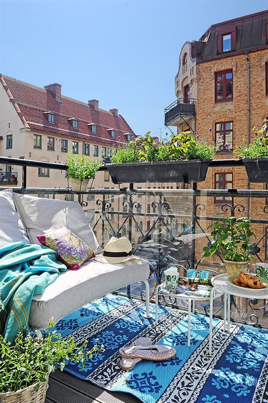 18 Fascinating Boho Chic Terrace Designs For Full Enjoyment This Summer