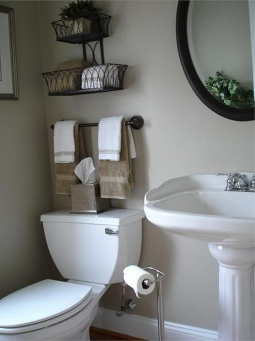 22 really amazing diy fix ups to enhance your bathroom 39 s look for Quick fix bathroom ideas