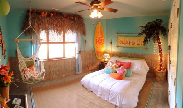 18 Fantastic Tropical Child's Room Designs That Will Amaze You