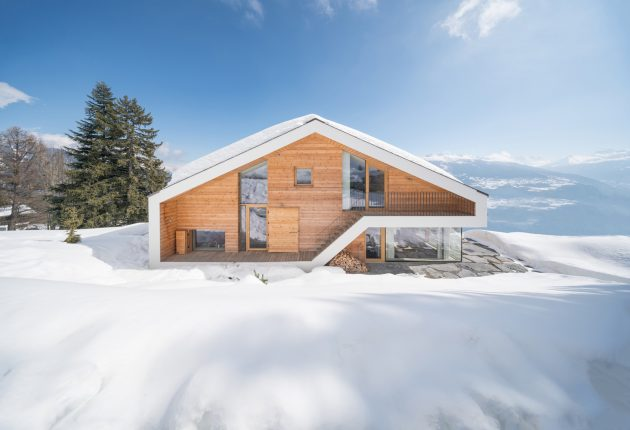 A Contemporary Chalet Anzère by SeARCH in Anzère, Switzerland
