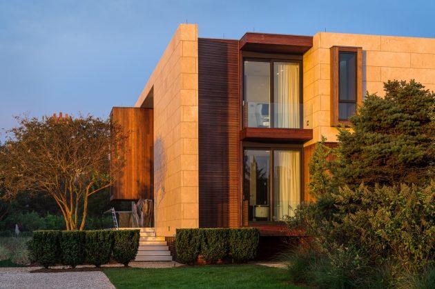 Daniel's Lane Residence by Blaze Makoid Architecture in Sagaponack, NY