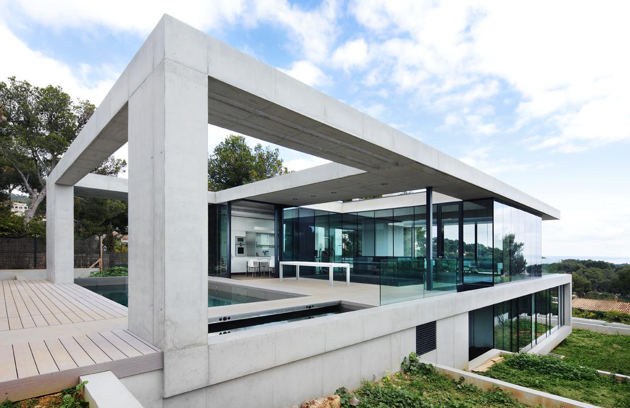 House in costa d 39 en blanes by sct estudio de arquitectura - Estudios arquitectura bilbao ...