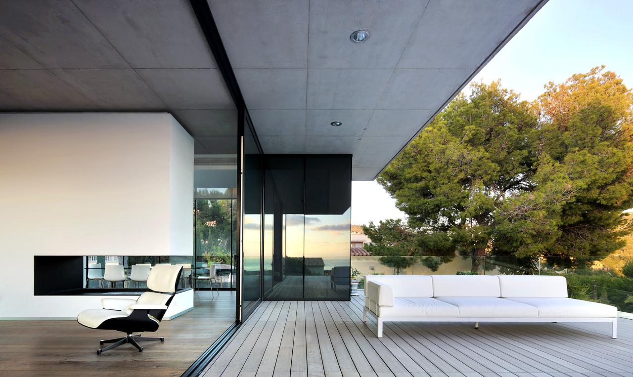 House in Costa d\'en Blanes by SCT Estudio de Arquitectura in ...