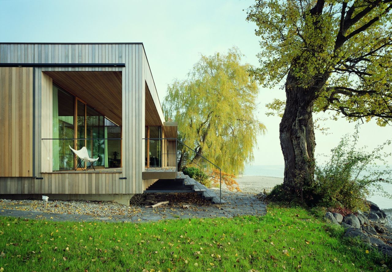 lindau house a lovely contemporary home by k m architektur in germany. Black Bedroom Furniture Sets. Home Design Ideas