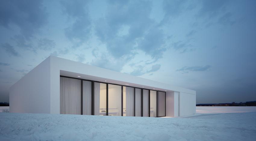 Reykjavik House - A Minimalist Dwelling by MOOMOO ...