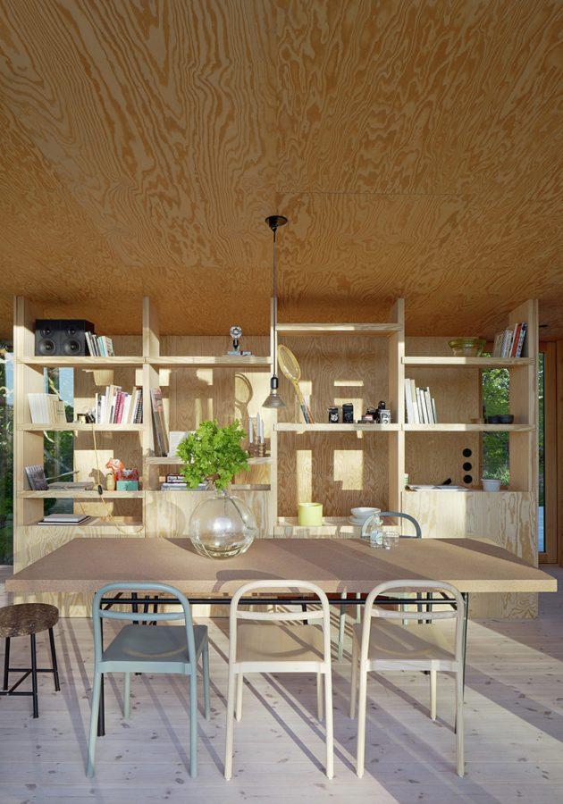 The Aspvik House by Andreas Martin Löf Arkitekter in Stockholm, Sweden