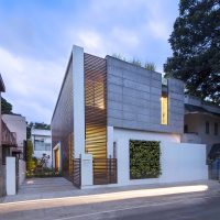 The Badri Residence – A Modern Indian Home by Architecture Paradigm