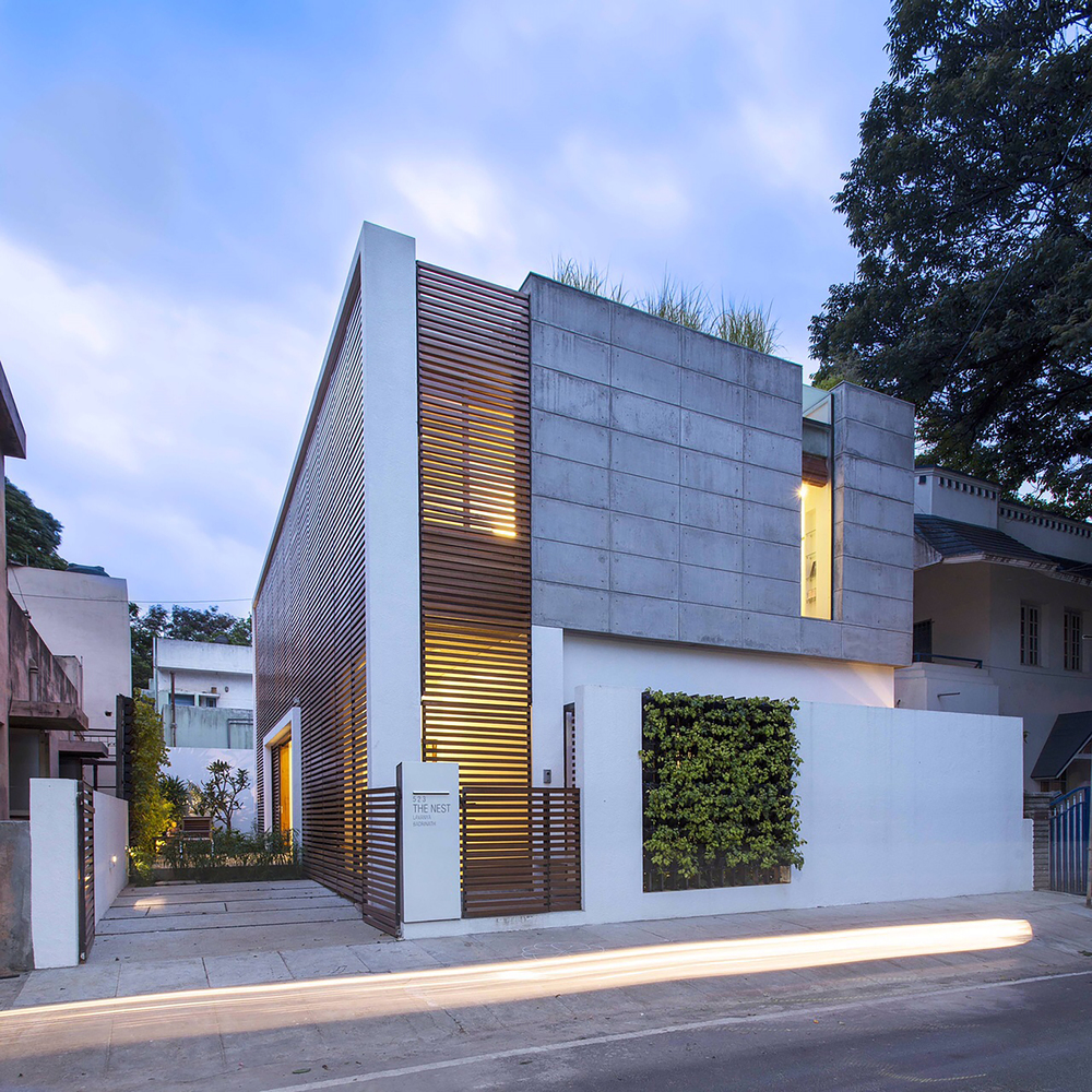 Indian Home Exterior Design Pictures: A Modern Indian Home By Architecture
