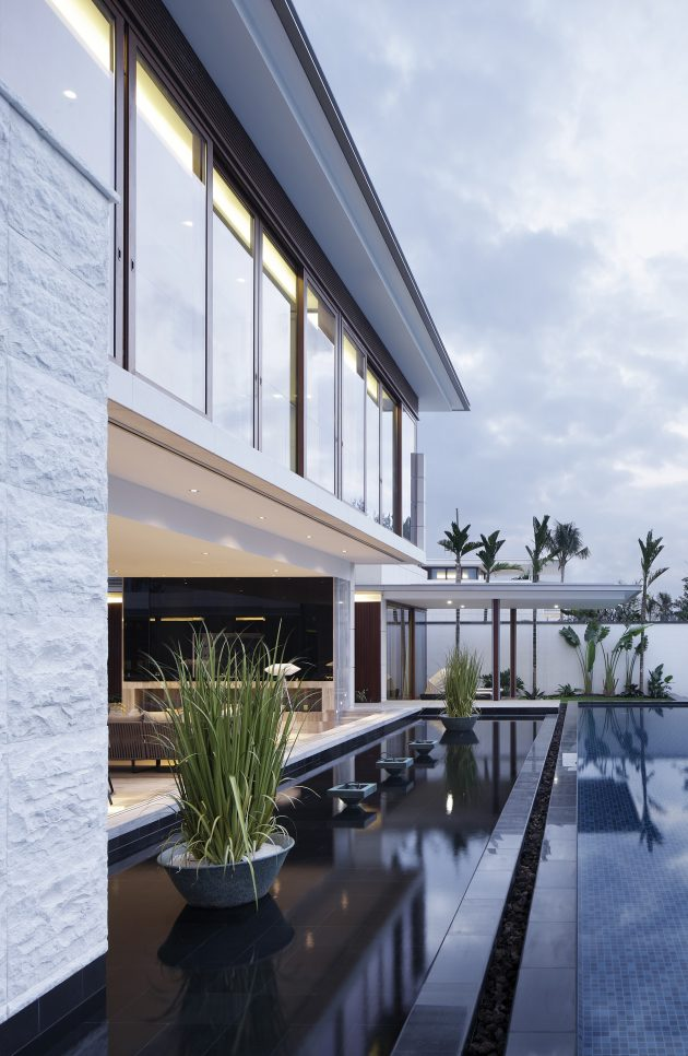 Seaview House Designed By Parsonson Architects: The Chenglu Villa By GAD Architecture In China