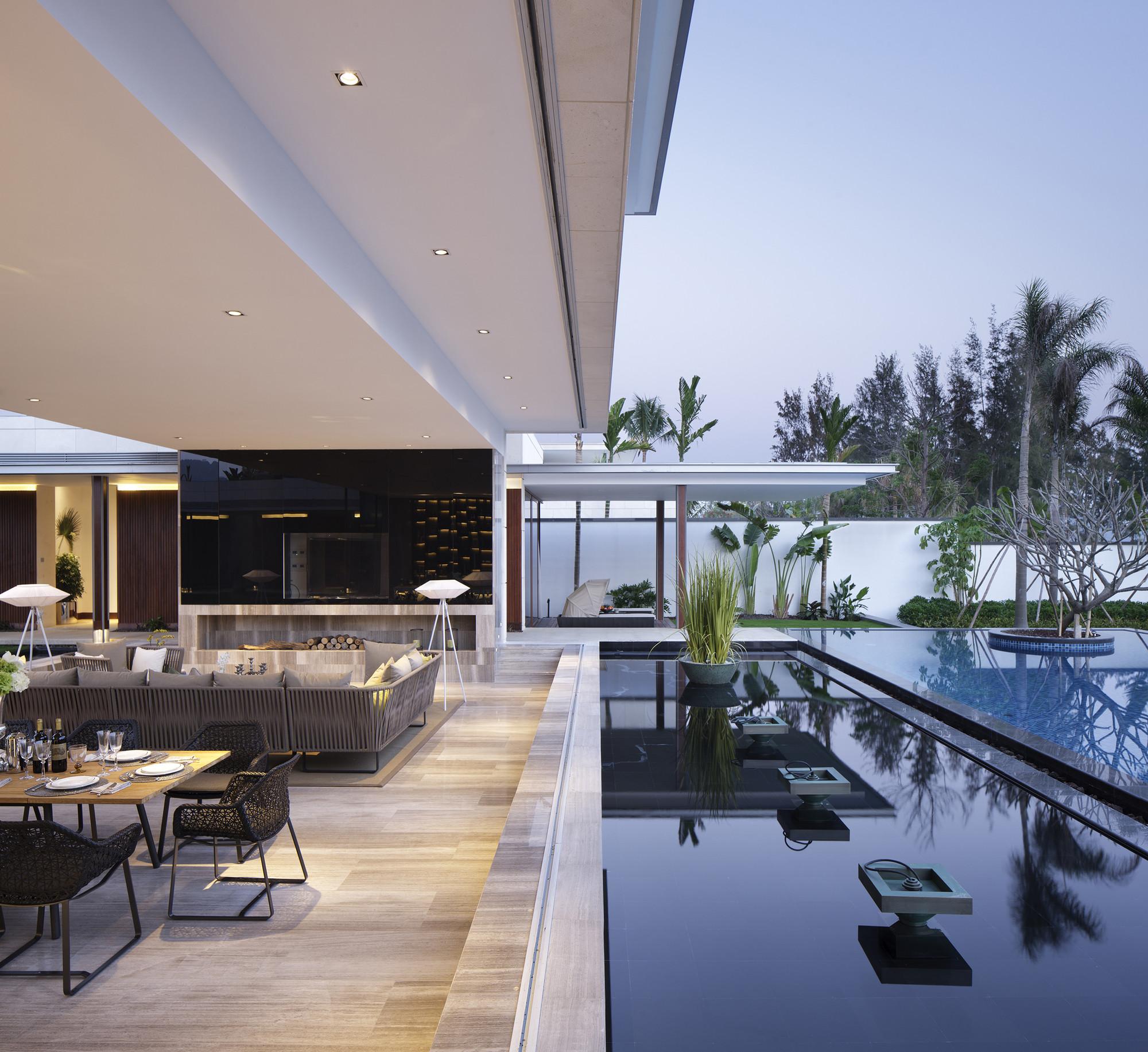 Luxury Home Interior Design Ideas Contemporary In China: The Chenglu Villa By GAD Architecture In China