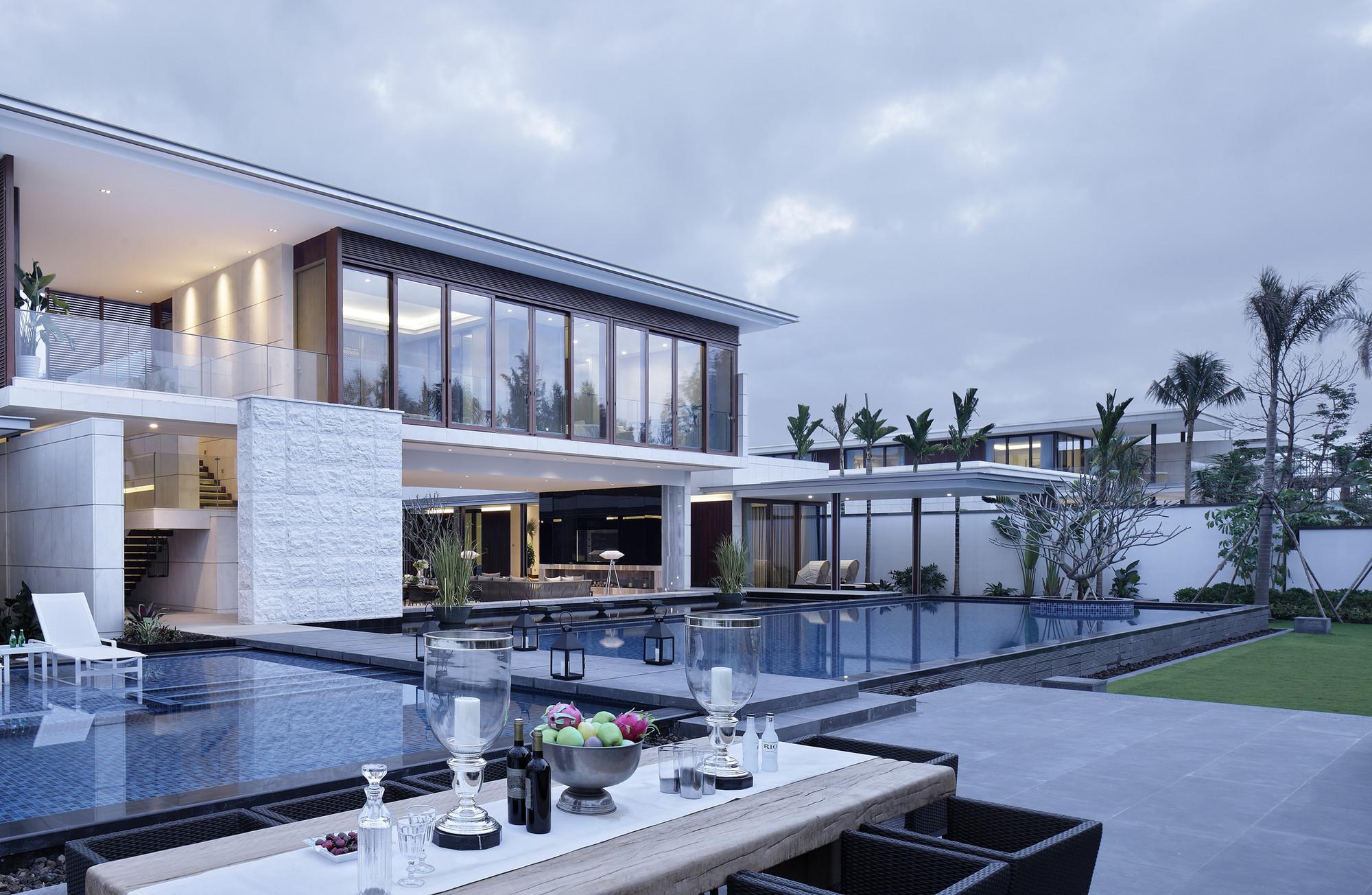 the chenglu villa by gad architecture in china. Black Bedroom Furniture Sets. Home Design Ideas