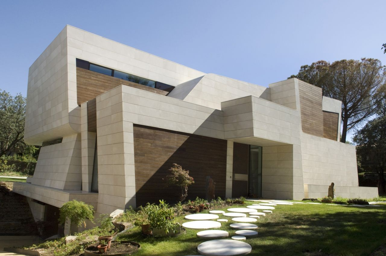 Superb Contemporary Architecture Madrid The Contemporary House In Madrid By A Cero  Architects Good Ideas
