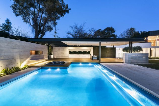 The Dalkeith Residence by Hillam Architects in Australia