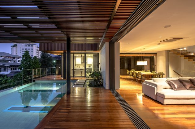 The Eye-Catching Joly House by Stu/D/O Architects in Thailand