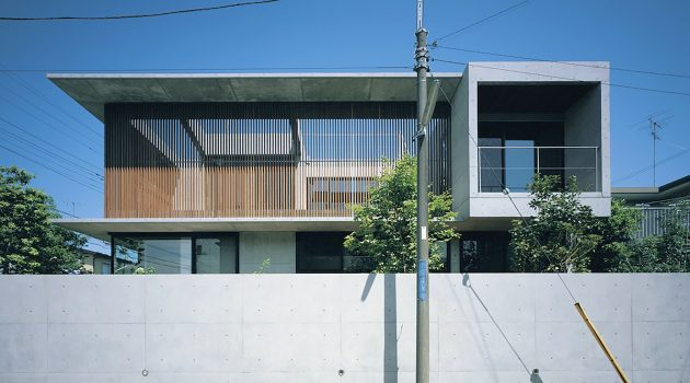 The FOO House by APOLLO Architects in Yokohama